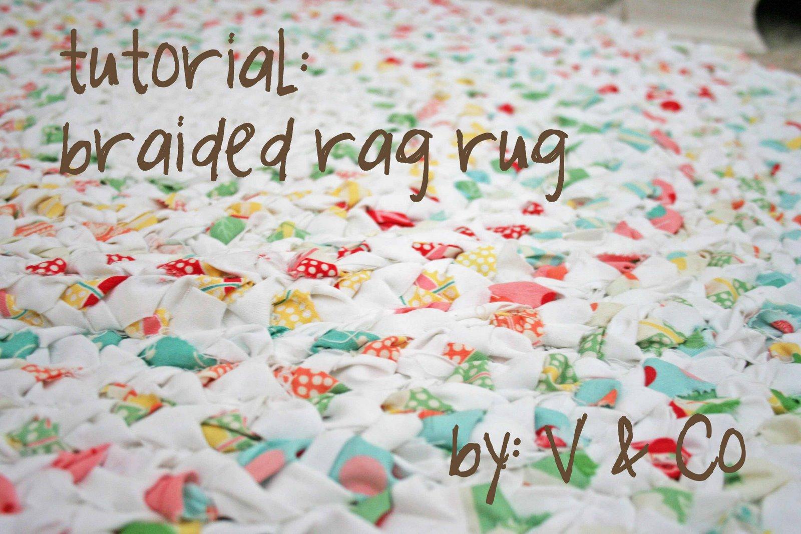 Fabric Rug Diy Braided Rag Rug Moda Bake Shop