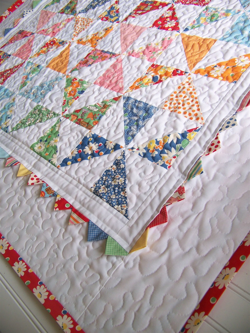 Moda three strip pinwheel quilt pattern
