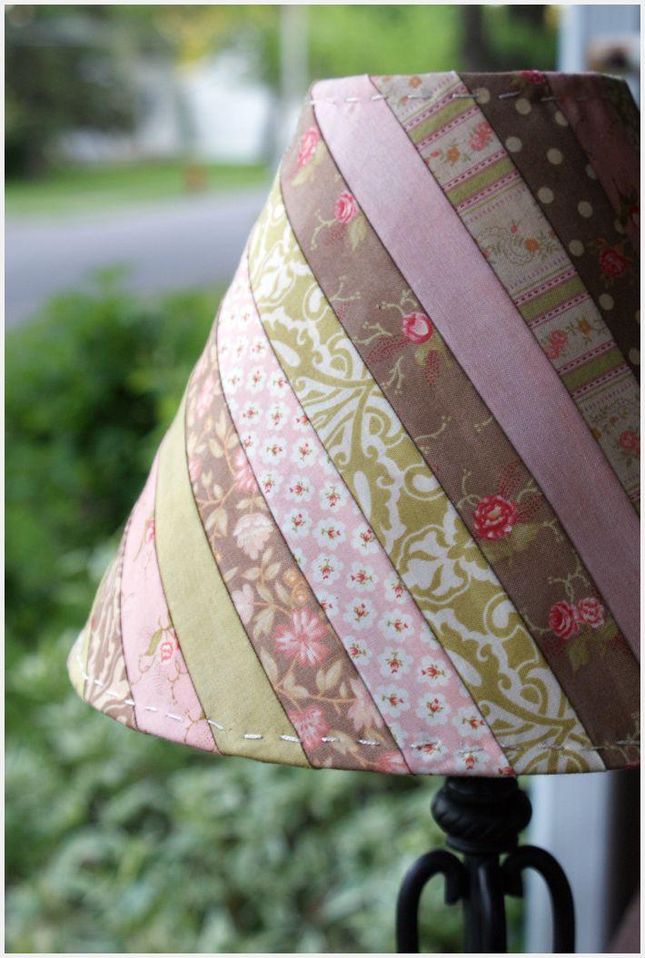 Fabric lamp shade moda bake shop for Pass time fabrics