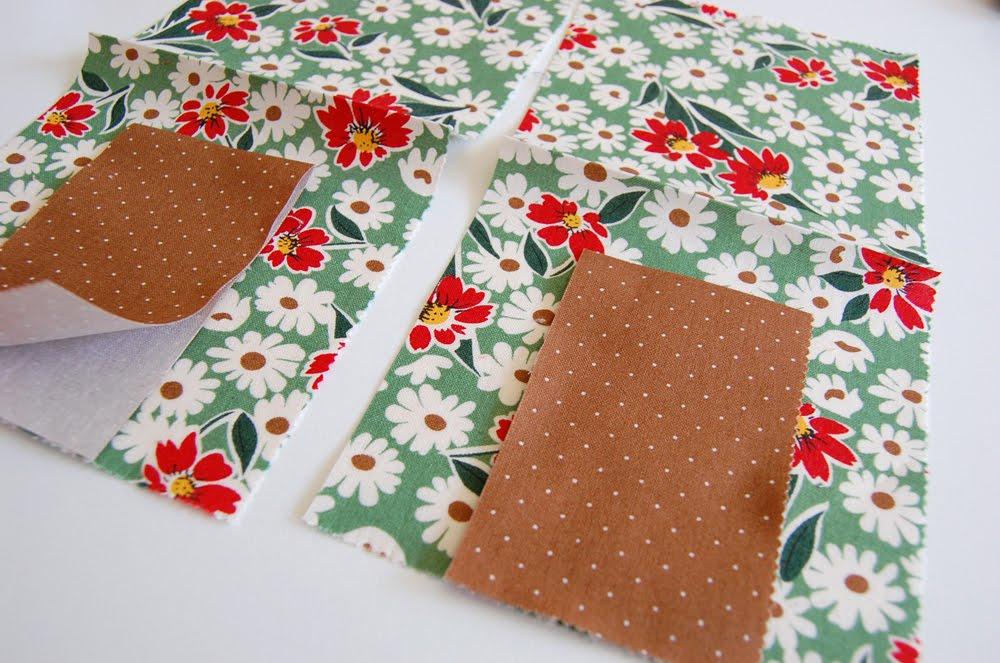 Кусочки ткани в открытках, юбилеем