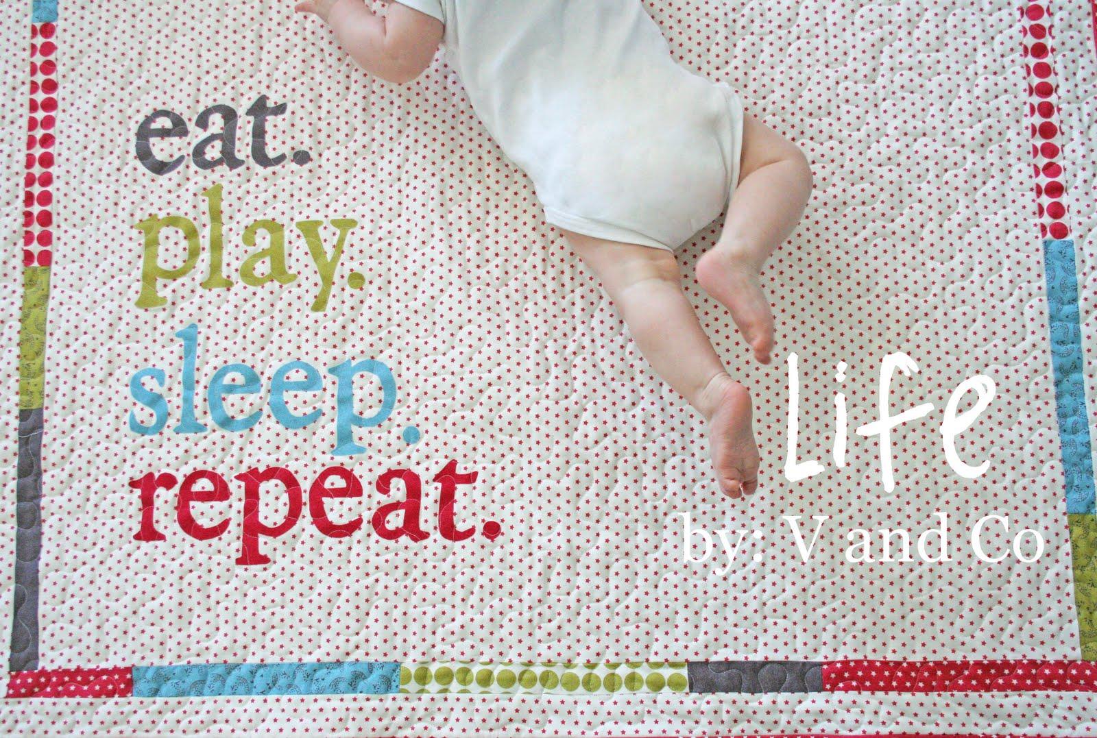 Baby life quilt « moda bake shop