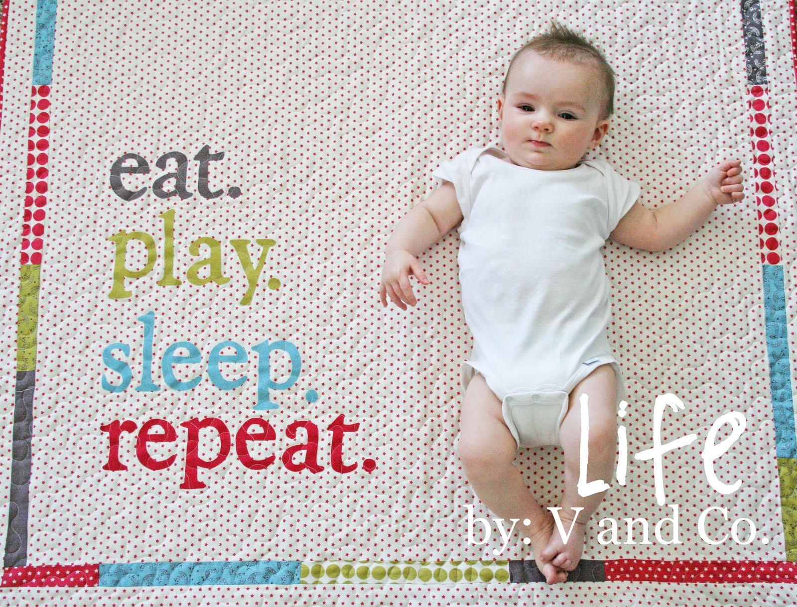 Baby life quilt moda bake shop spiritdancerdesigns Images