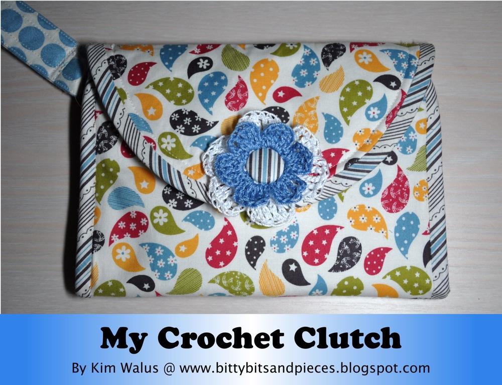 Crochet Clutch Moda Bake Shop