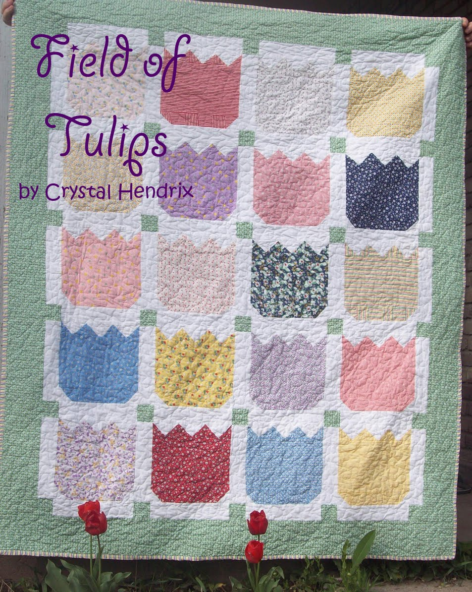 Field Of Tulips Quilt Moda Bake Shop