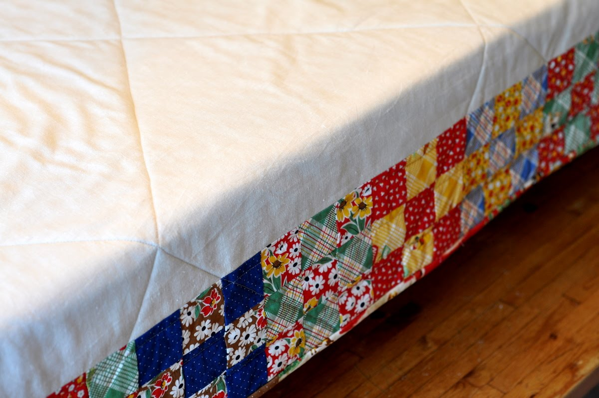 Superbe Happy Camper Quilt Or Quilted Tablecloth