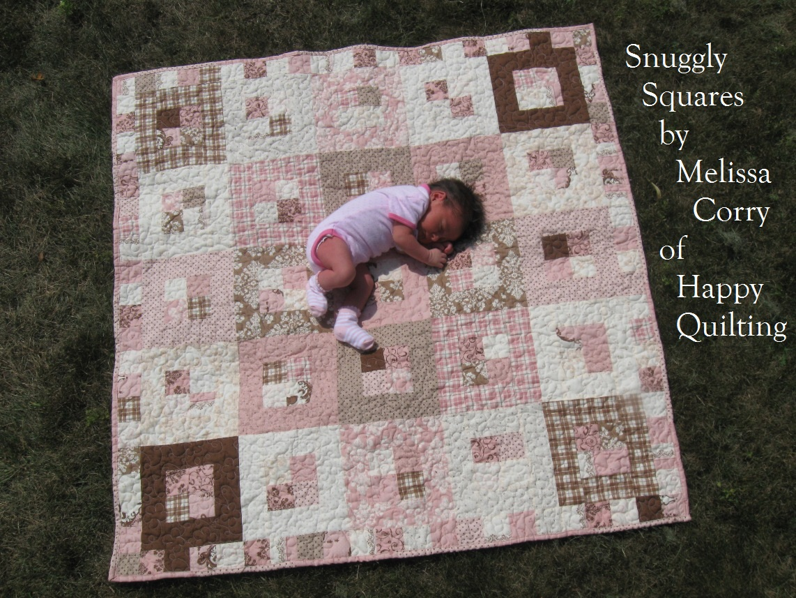 Snuggly Squares Baby Quilt Moda Bake Shop