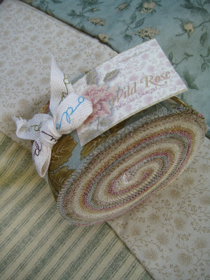 Wild Rose Postage Stamp Quilt Moda Bake Shop
