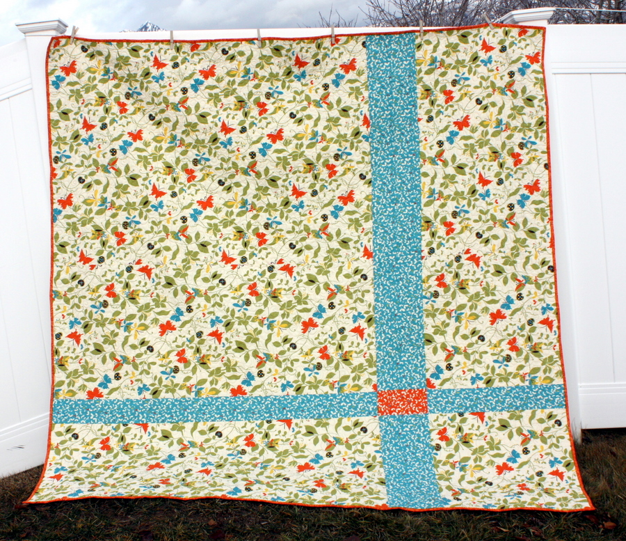 Large Chrysalis Lattice Quilt Moda Bake Shop