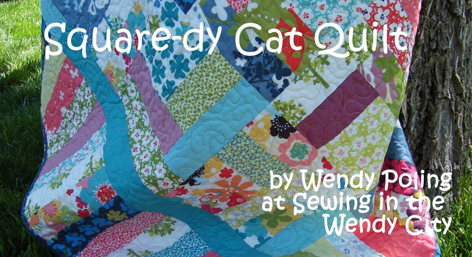 Quilt Patterns Using Moda Jelly Rolls : Squaredy Cat Quilt Moda Bake Shop