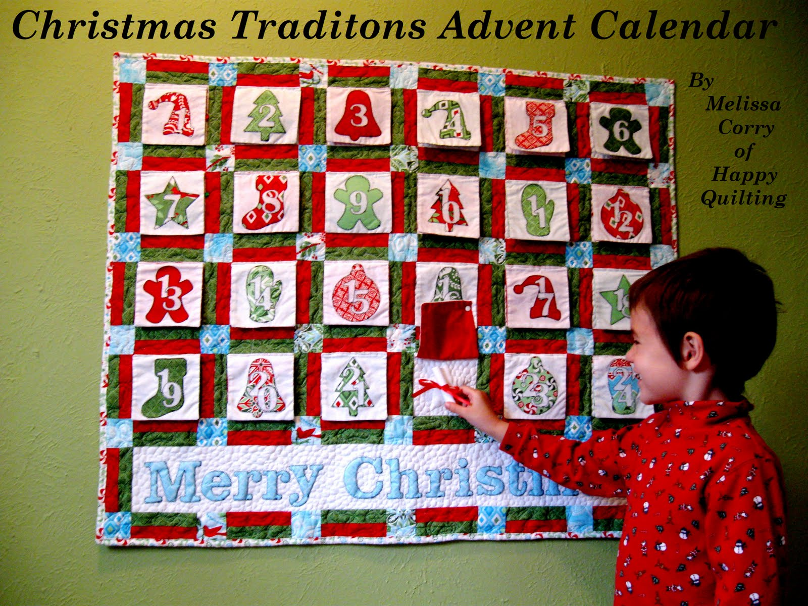 Christmas Calendar Pictures : Christmas traditions advent calendar « moda bake shop