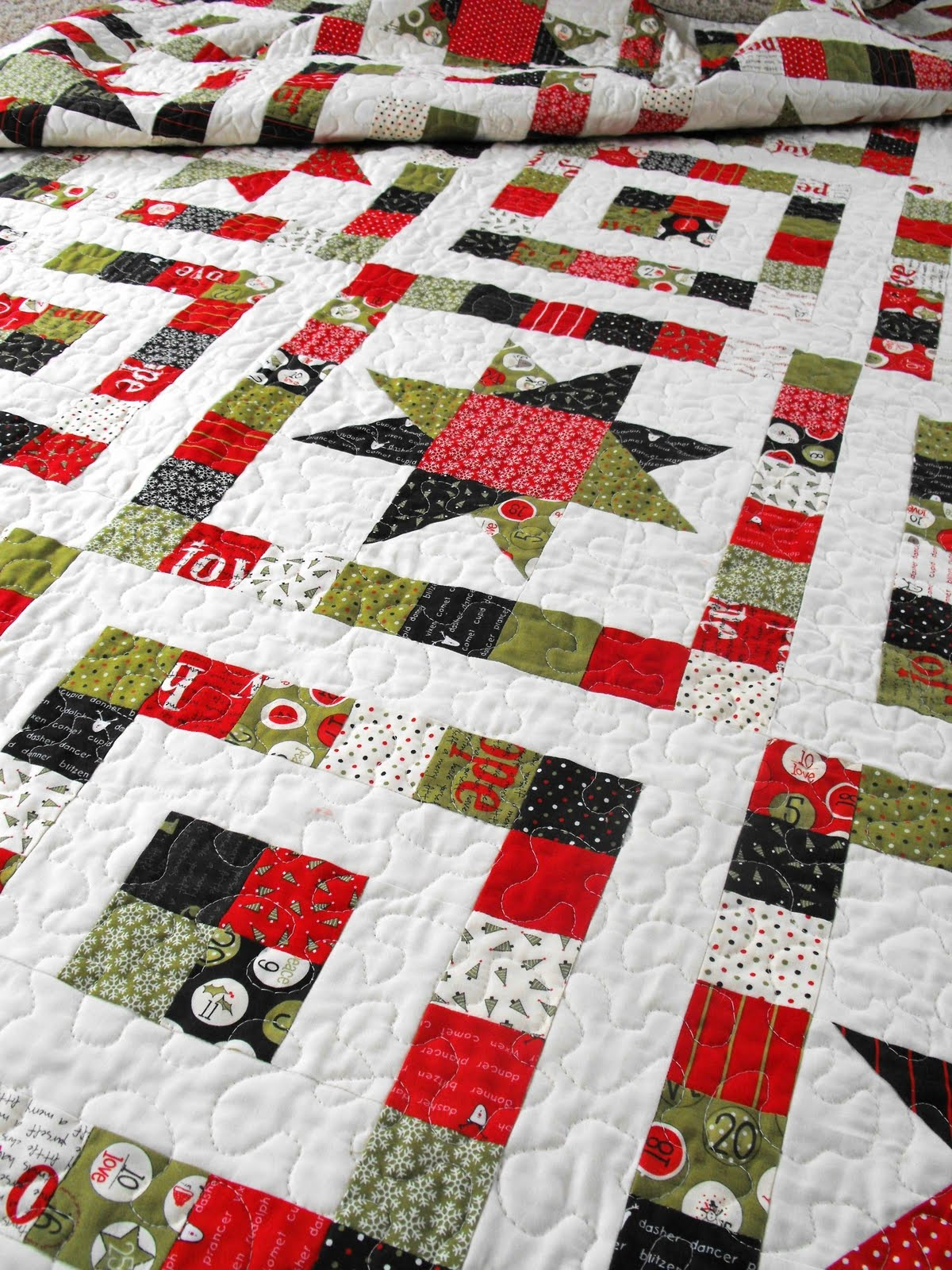 Quilt Patterns Made From Layer Cakes