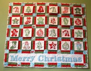 Christmas Traditions Advent Calendar Â« Moda Bake Shop : advent calendar quilt - Adamdwight.com