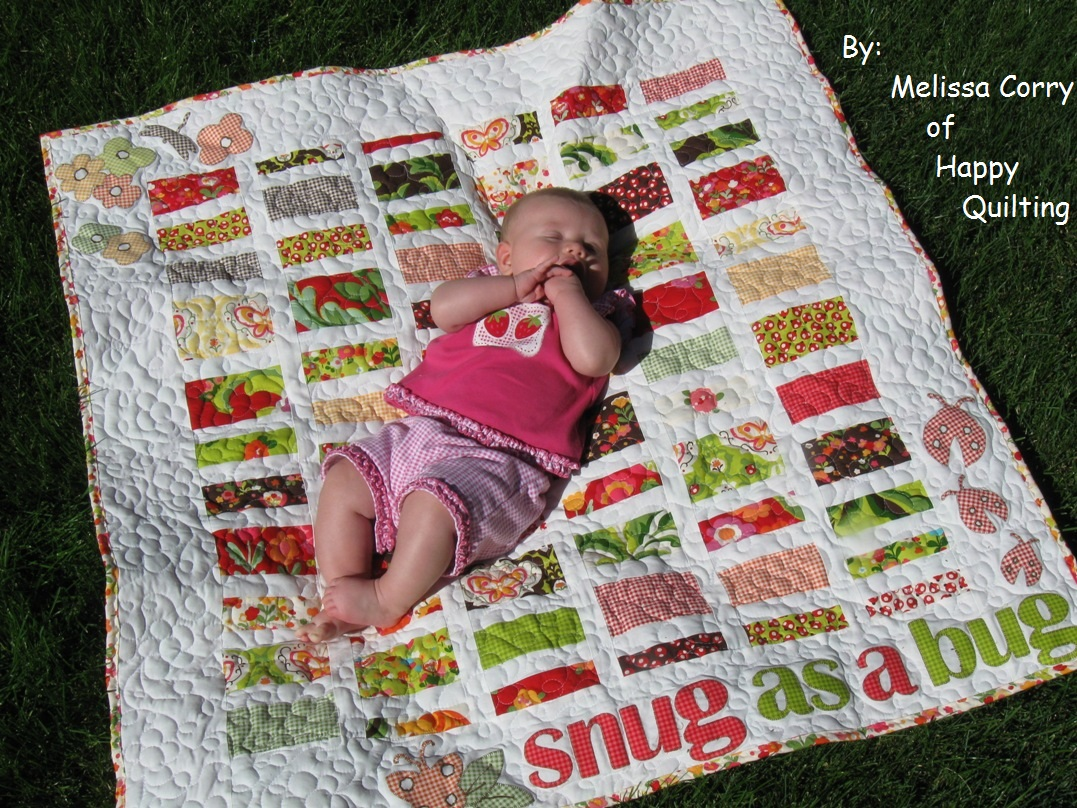 Snug as a Bug Baby Quilt Â« Moda Bake Shop : bug quilt - Adamdwight.com
