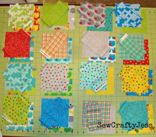 Jungle Patchwork Baby Quilt