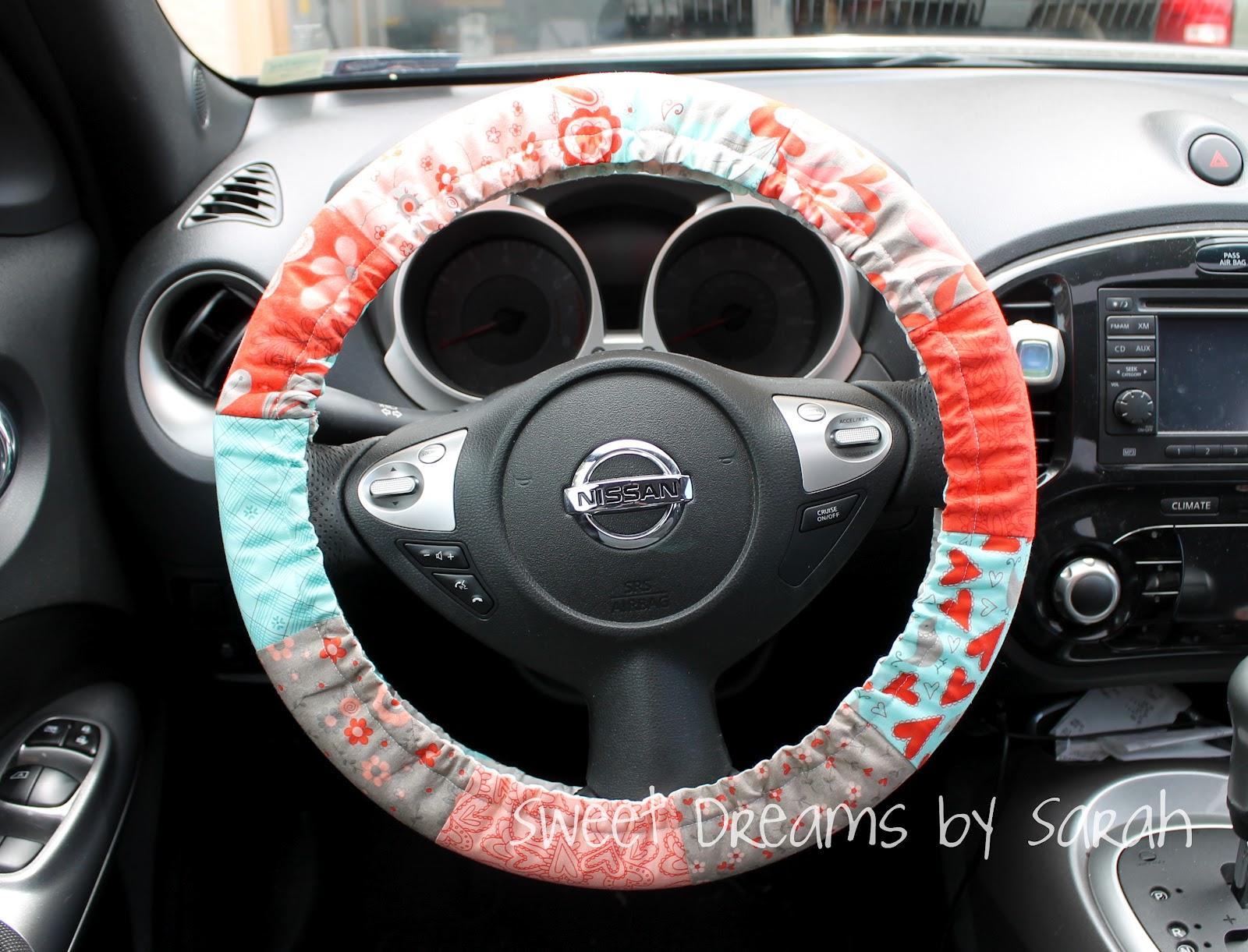 30 Minute Gift Padded Steering Wheel Cover Modafabrics