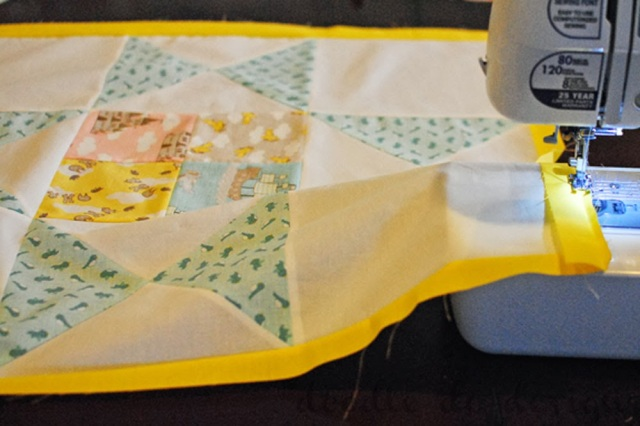Story Book Star Baby Quilt Tutorial | Doodle Do Designs for Moda Bake Shop