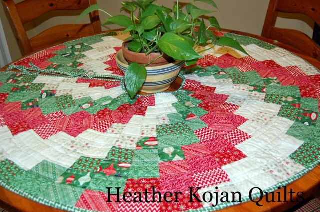 Peppermint Swirl Christmas Tree Skirt 171 Modafabrics