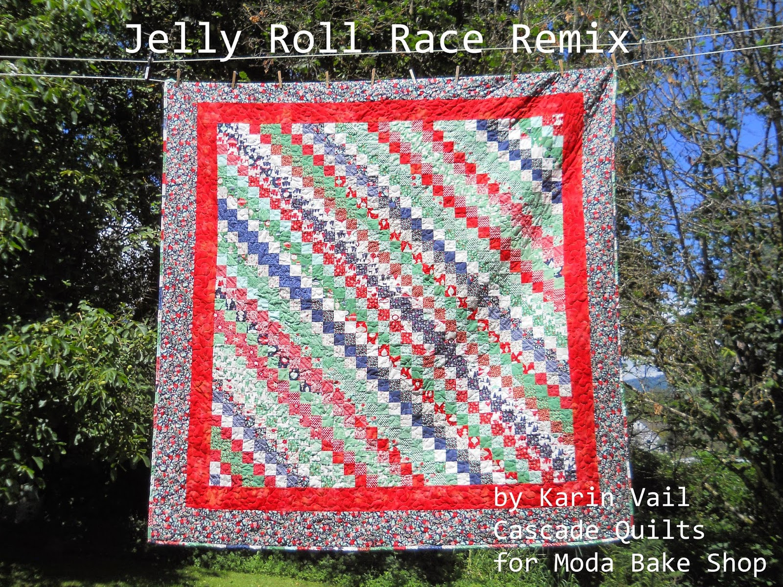 Jelly Roll Race Remix Quilt Modafabrics